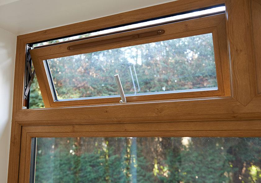 Flush Sash Window Interior