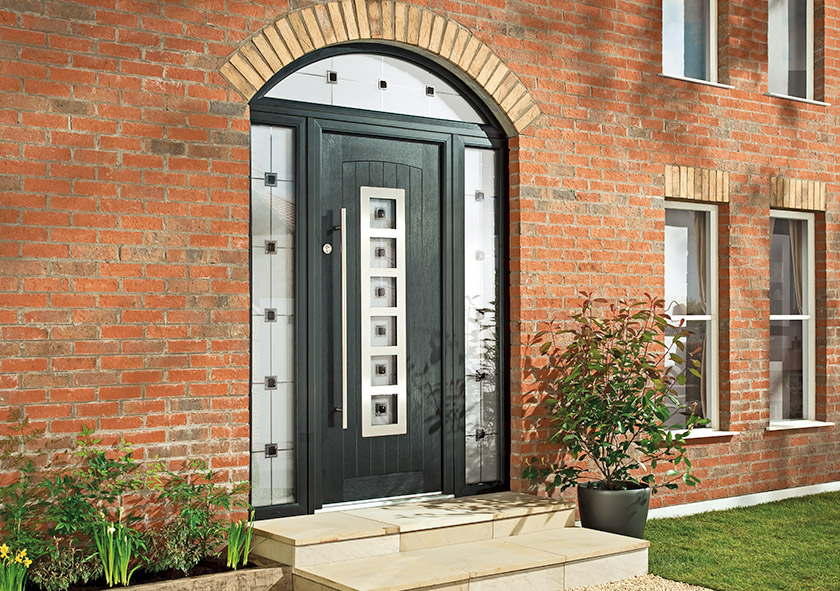 Stately Black Doors That Make You Feel Like Youre Living In Number