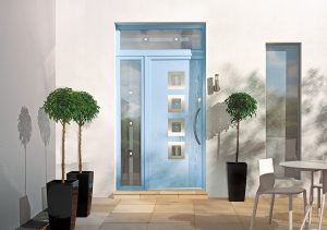 Coloured Composite Entrance Doors