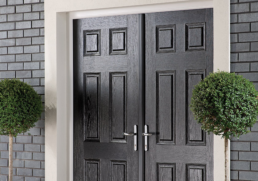 Extra Wide Entrance Doors