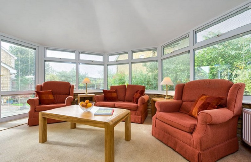 Equinox Conservatory Interior DW Windows