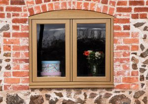 Flush Sash Timber Effect Windows