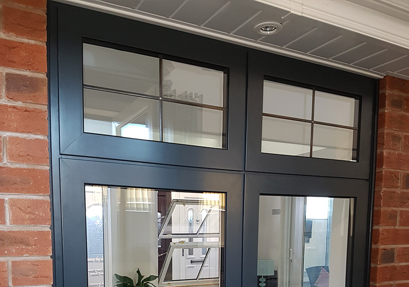 Black Upvc Windows >> Flush Sash Windows in the West Midlands | DW Windows