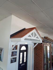 Modern Porch Canopy