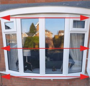 Window measurement for replacement