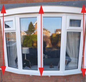 Window measurement replacement