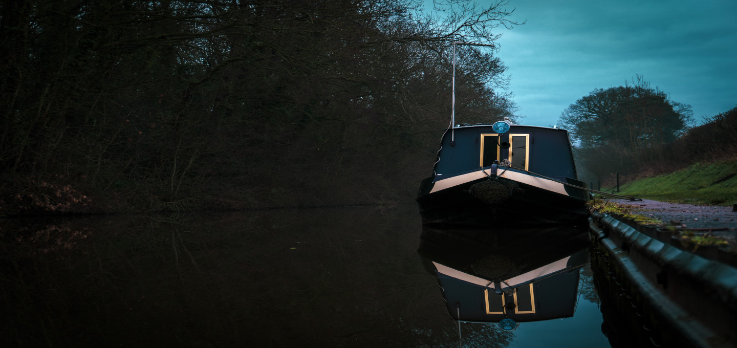 Shropshire canal boat